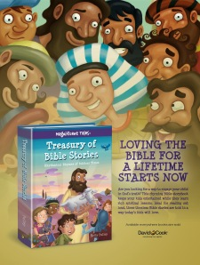 Treasury of Bible Stories one sheet