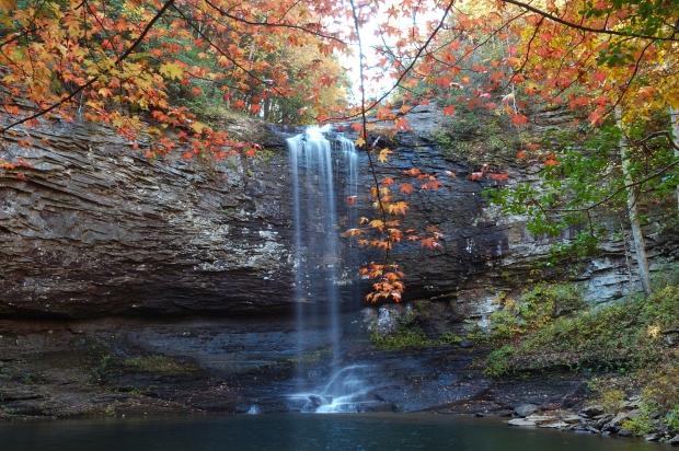 Cloudland Canyon SP waterfall