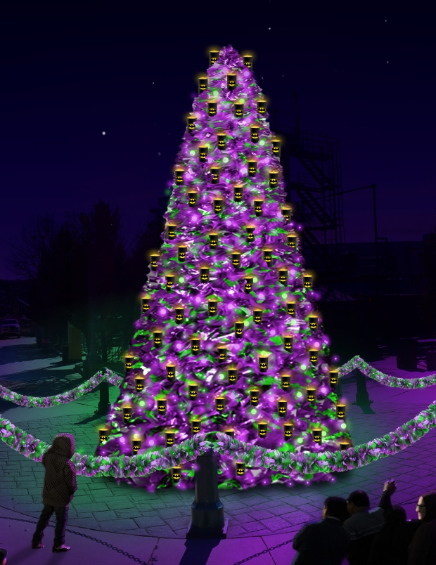 Holiday City Tree 2