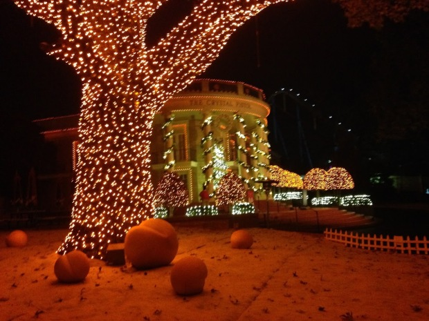 "Decorated in ""peaches"" to celebrate Georgia's charm, you will find the Crystal Palace aglow in orange.  Check out their holiday show this season.  It will put you right in the spirit."