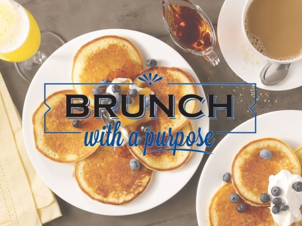 Maggianos Brunch with a purpose